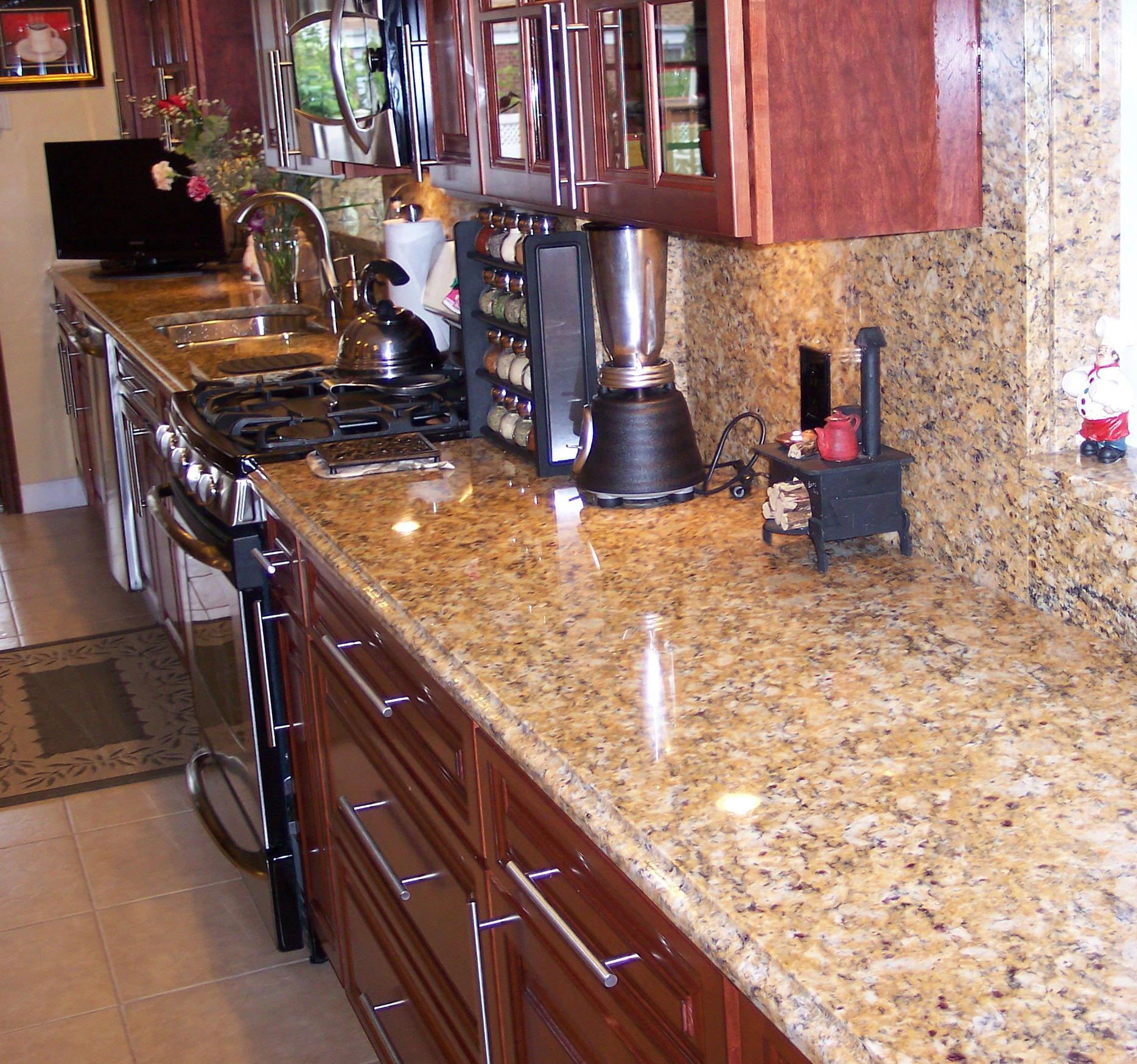 kitchen santa cecilia granite tile backsplash ideas granite worktops